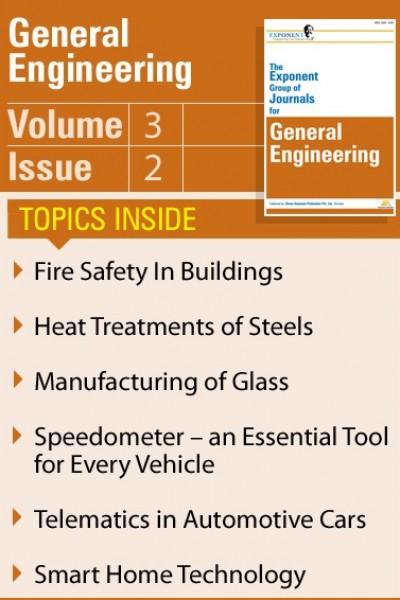 General Engineering – Volume 3 – Issue 2