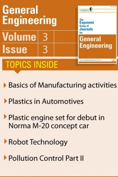 General Engineering – Volume 3 – Issue 3