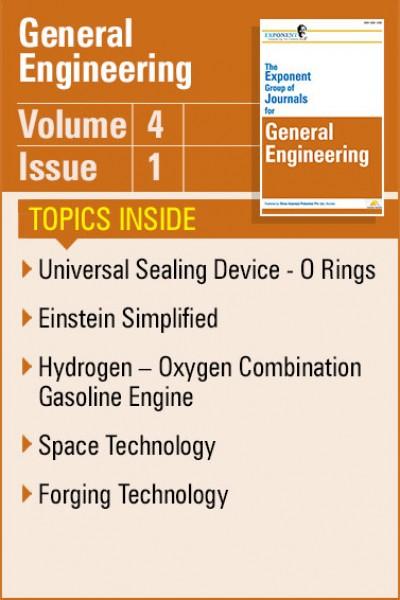 General Engineering – Volume 4 – Issue 1
