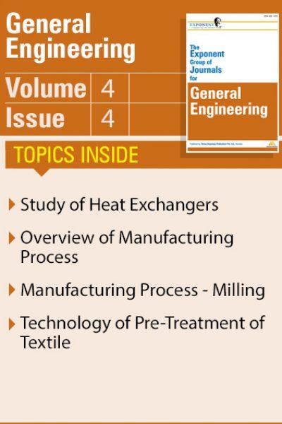General Engineering – Volume 4 – Issue 4